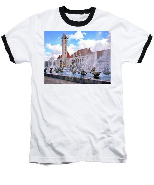 Union Station - St Louis Baseball T-Shirt