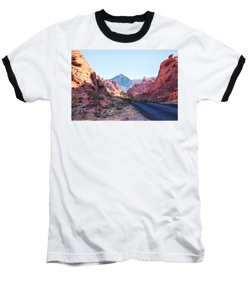 Valley Of Fire State Park, Nevada Baseball T-Shirt