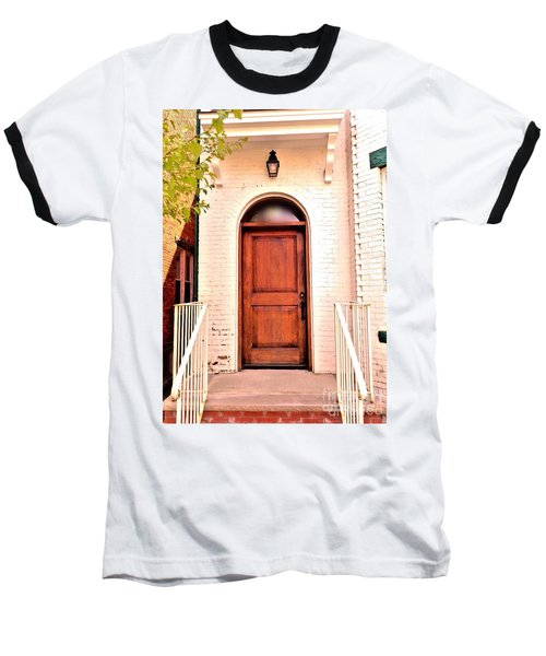 Baseball T-Shirt featuring the photograph Welcome Home by Becky Lupe