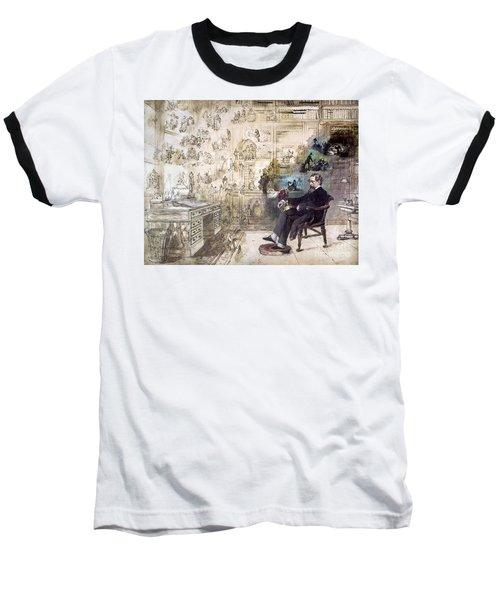 Charles Dickens (1812-1870) Baseball T-Shirt