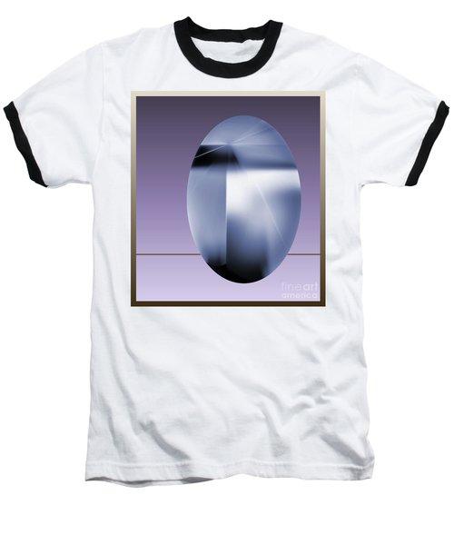 Baseball T-Shirt featuring the digital art 2007-2 2017 by John Krakora