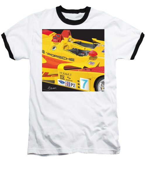 2008 Rs Spyder Illustration Baseball T-Shirt