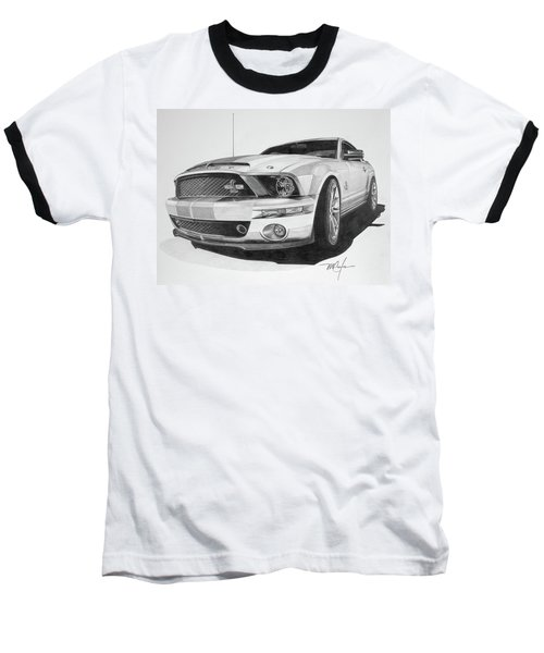 2008 Shelby Cobra 40th Anniversary 1968-2008 Baseball T-Shirt