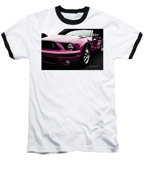2010 Pink Ford Cobra Mustang Gt 500 Baseball T-Shirt