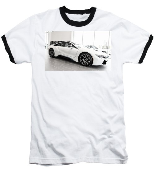 Baseball T-Shirt featuring the photograph 2014 Bmw E Drive I8 by Aaron Berg