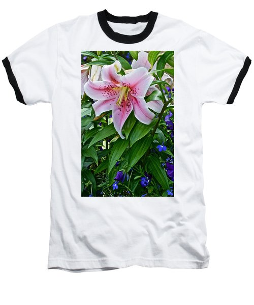 2015 Summer At The Garden Event Garden Lily 3 Baseball T-Shirt