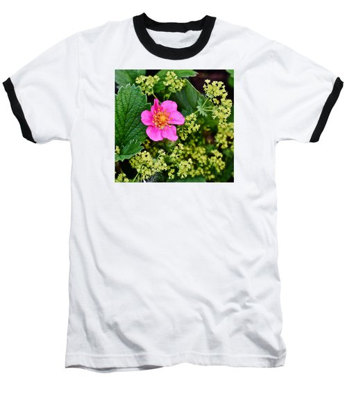 2015 Summer's Eve At The Garden Lipstick Strawberry Baseball T-Shirt