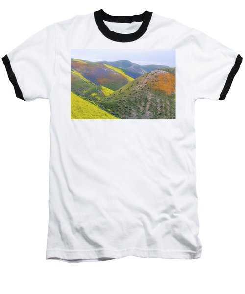 2017 California Super Bloom Baseball T-Shirt