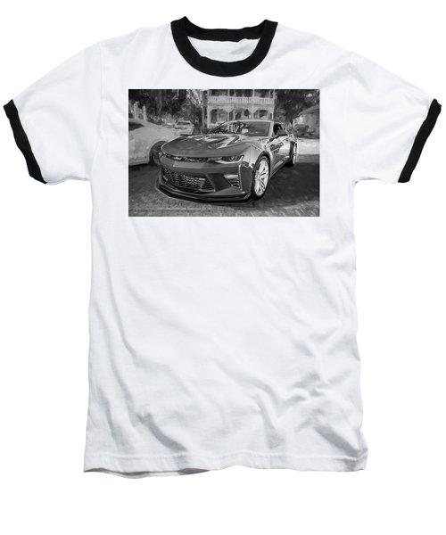 2017 Chevrolet Camaro Ss2 Bw Baseball T-Shirt by Rich Franco