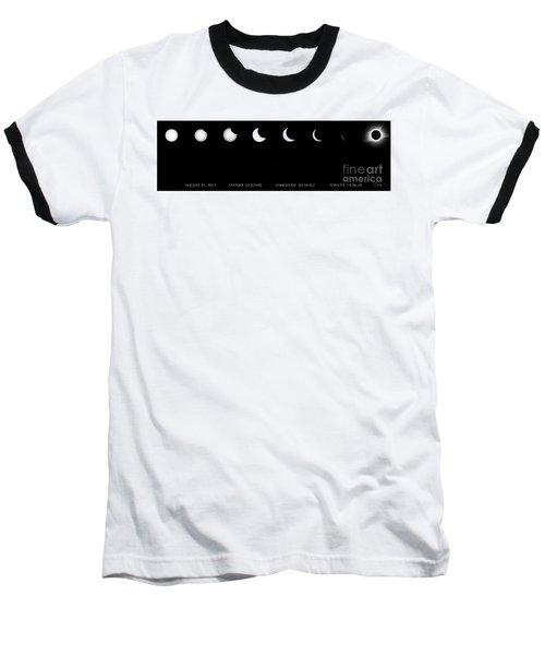 2017 Solar Eclipse Baseball T-Shirt