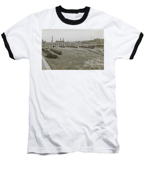 207th Street Railyards Baseball T-Shirt