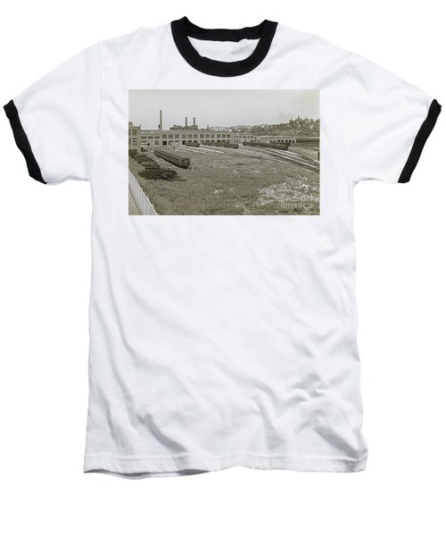 207th Street Railyards Baseball T-Shirt