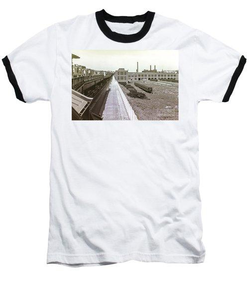 207th Street Subway Yards Baseball T-Shirt