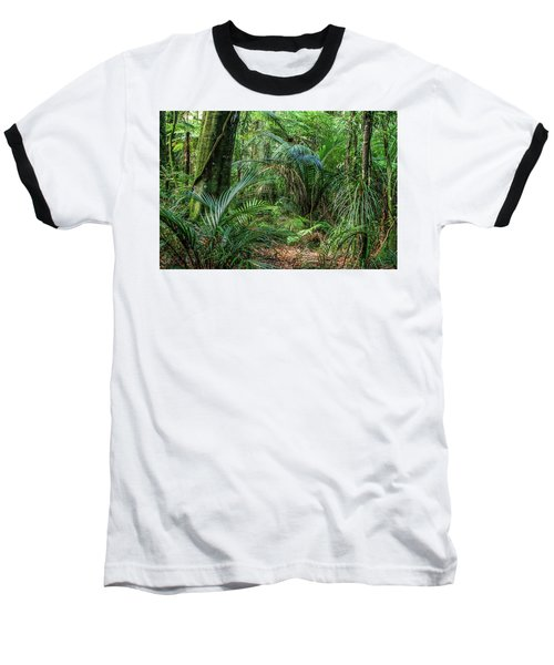 Baseball T-Shirt featuring the photograph Jungle by Les Cunliffe
