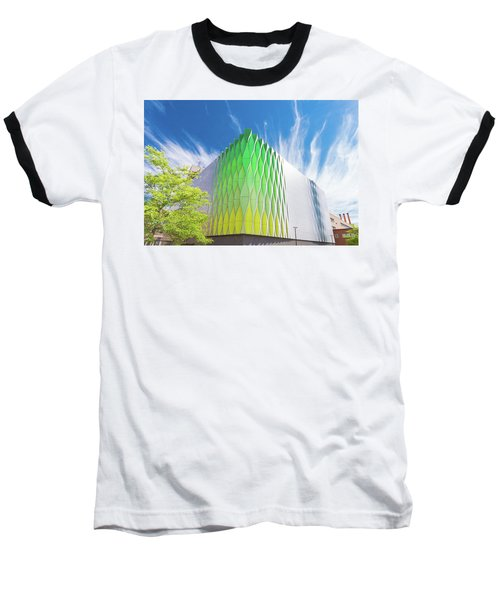 Modern Architecture Baseball T-Shirt by Hans Engbers