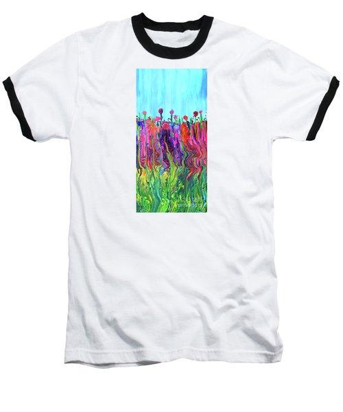 #2555  Happylittle Garden Baseball T-Shirt