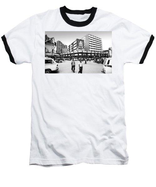 Cms, Odunlami Street Baseball T-Shirt