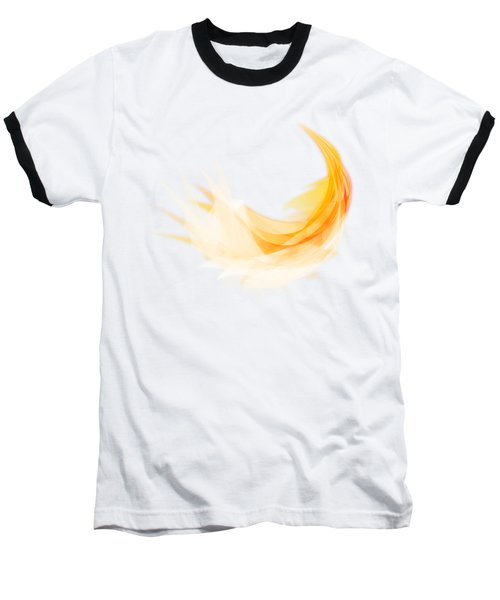 Abstract Feather Baseball T-Shirt