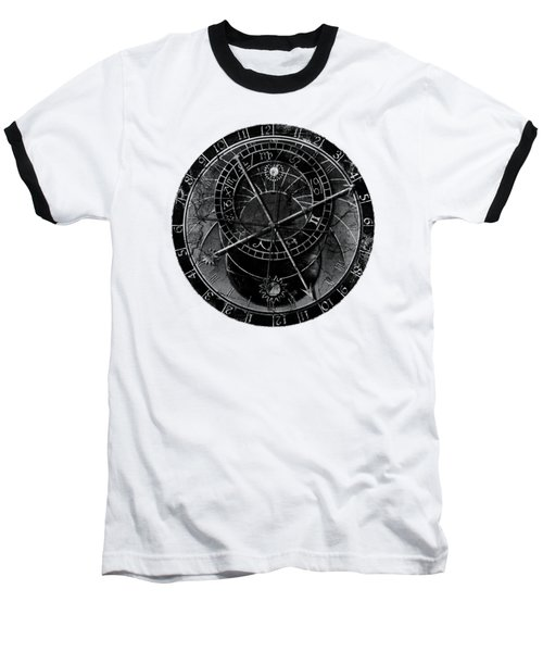 Astronomical Clock Baseball T-Shirt