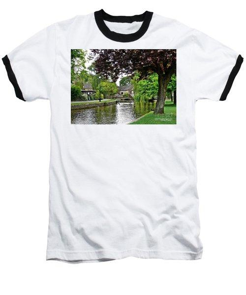 Bourton-on-the-water Baseball T-Shirt