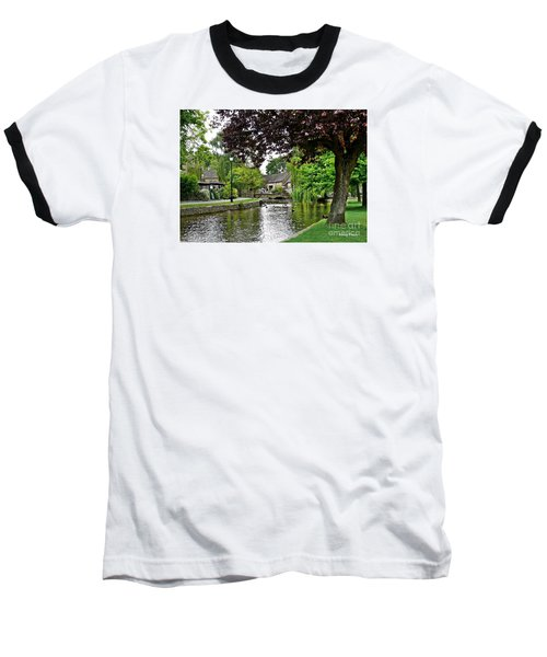 Bourton-on-the-water Baseball T-Shirt