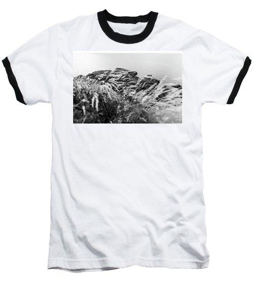 Cliffs At Kullaberg Baseball T-Shirt