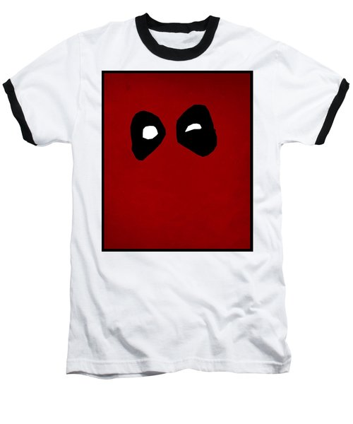 Deadpool Baseball T-Shirt