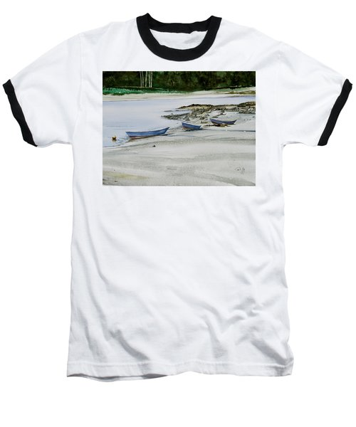 3 Dories Kennebunkport Baseball T-Shirt