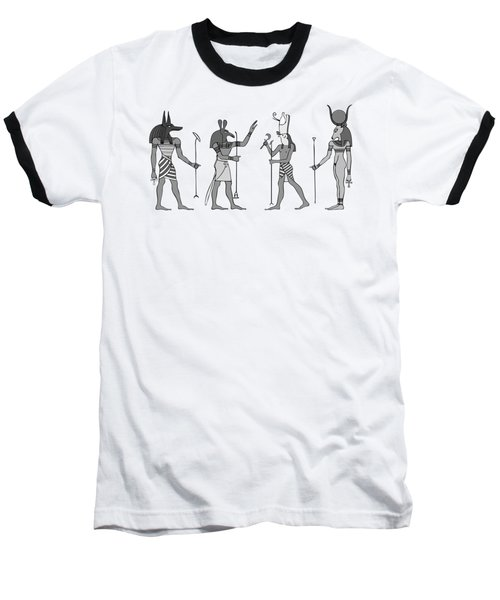 Gods Of Ancient Egypt Baseball T-Shirt