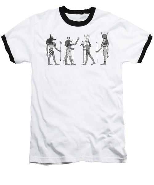 Gods Of Ancient Egypt Baseball T-Shirt