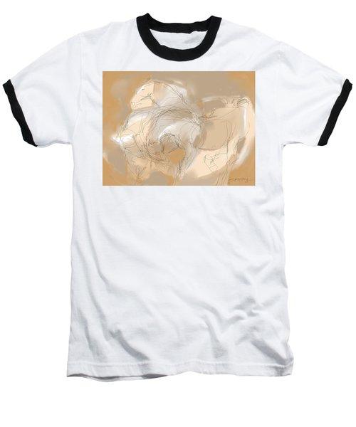 3 Horses Baseball T-Shirt