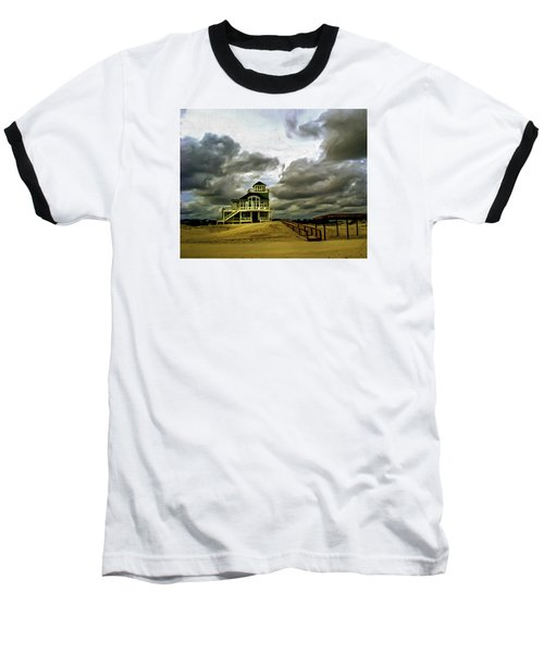 House At The End Of The Road Baseball T-Shirt by Gordon Engebretson