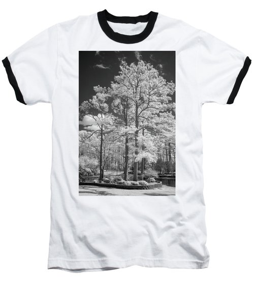 Hugh Macrae Park Baseball T-Shirt by Denis Lemay