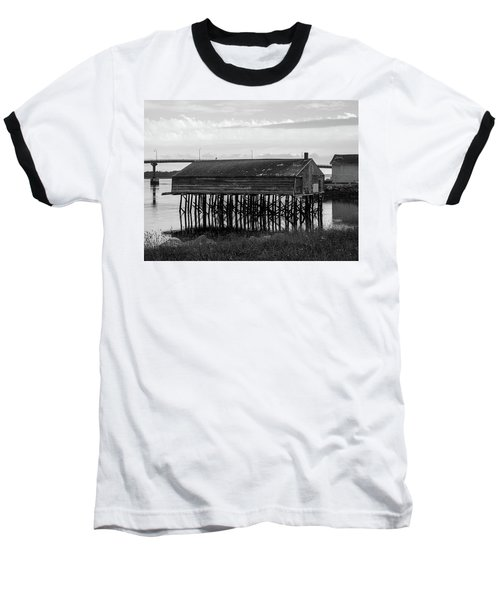 Lubec, Maine  Baseball T-Shirt by Trace Kittrell