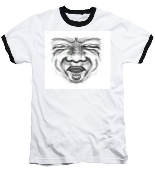 Magic Face Baseball T-Shirt