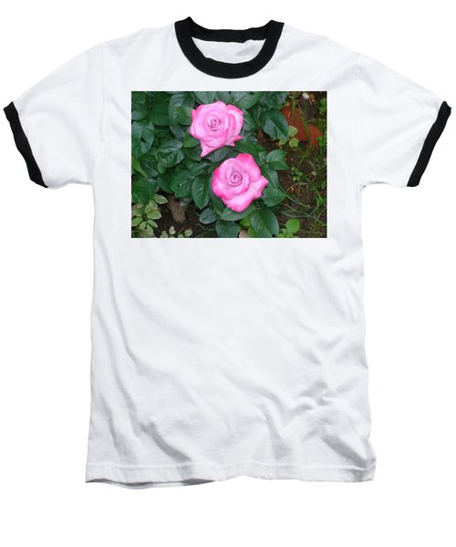 Paradise Rose Baseball T-Shirt