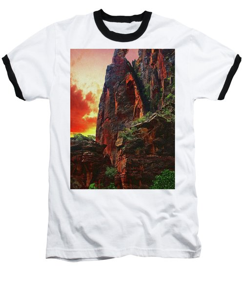 Sunrise In Canyonlands Baseball T-Shirt by Gary Baird