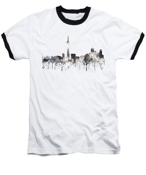 Toronto Ont.skyline Baseball T-Shirt