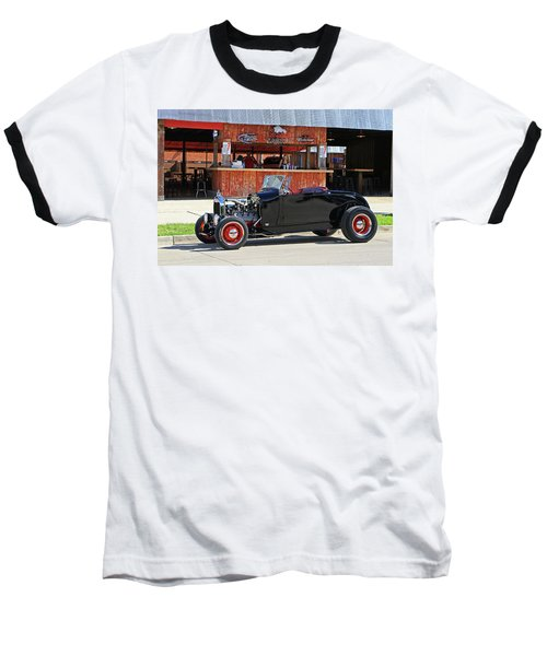 Baseball T-Shirt featuring the photograph 32 Roadster by Christopher McKenzie