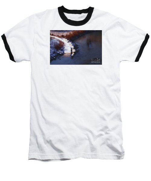 33rd And Canal Baseball T-Shirt by David Blank