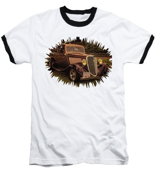 Cool 34 Ford Four Door Sedan Baseball T-Shirt