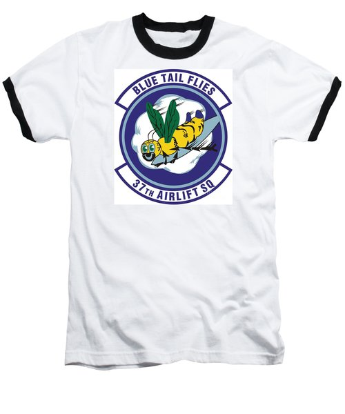 37th Tactical Airlift Squadron Baseball T-Shirt