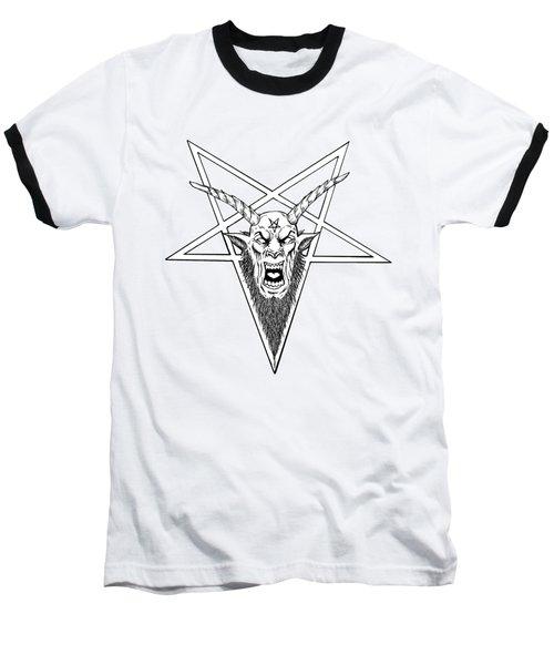 Baphomet Baseball T-Shirt