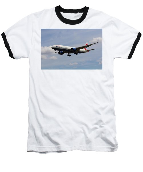 British Airways Boeing 777 Baseball T-Shirt