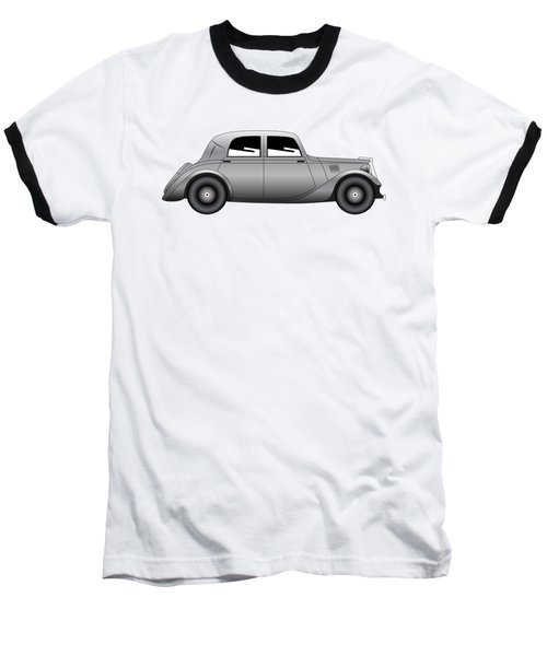 Baseball T-Shirt featuring the digital art Coupe - Vintage Model Of Car by Michal Boubin