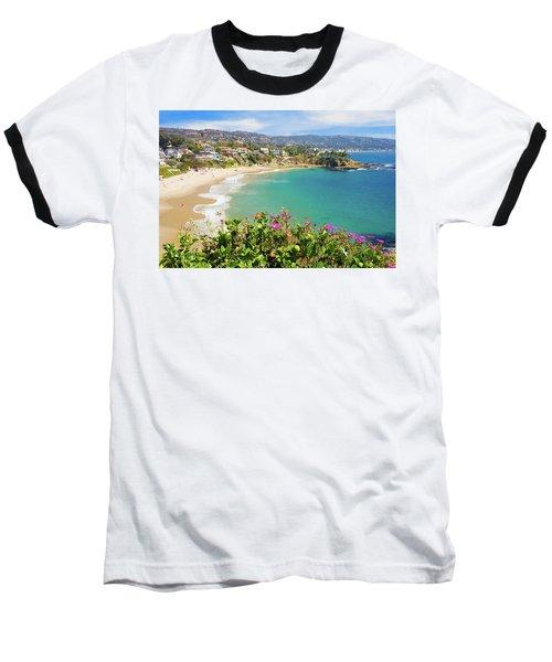 Crescent Bay, Laguna Beach, California Baseball T-Shirt