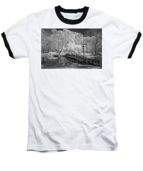 Bridge Over Water Baseball T-Shirt