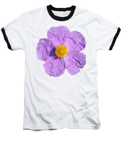 Rockrose Flower Baseball T-Shirt