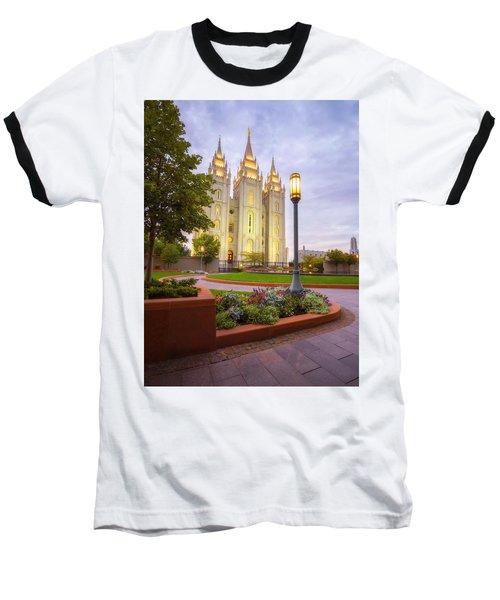 Salt Lake Temple Baseball T-Shirt