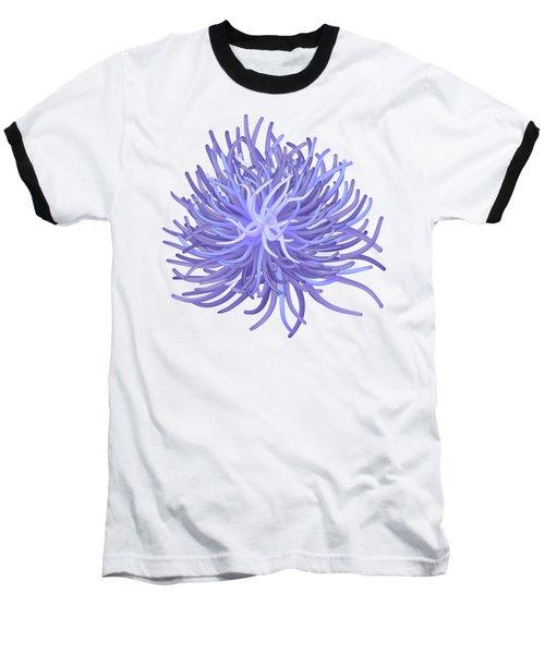 Sea Anemone Baseball T-Shirt by Michal Boubin